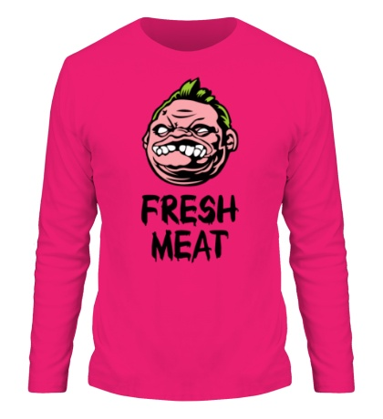 Мужской лонгслив Pudge: Fresh Meat