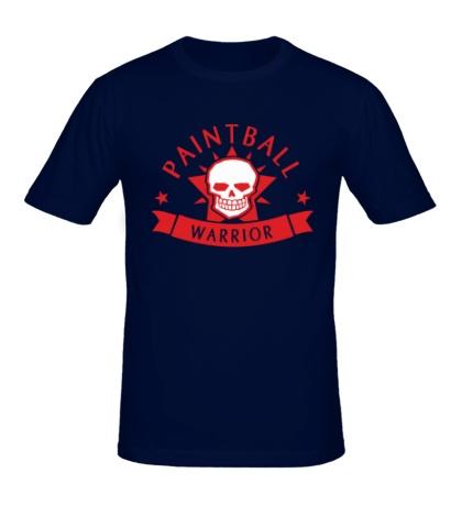 Мужская футболка Paintball warrior