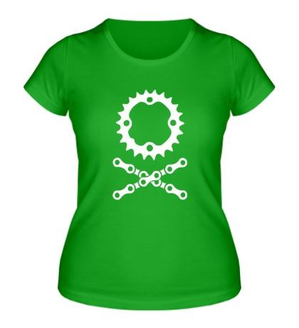 Женская футболка Цепь и звездочка
