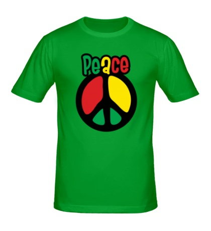 Мужская футболка Peace