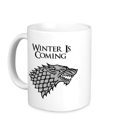 Керамическая кружка Winter is Coming