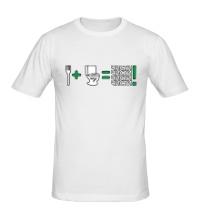 Мужская футболка Чисти !