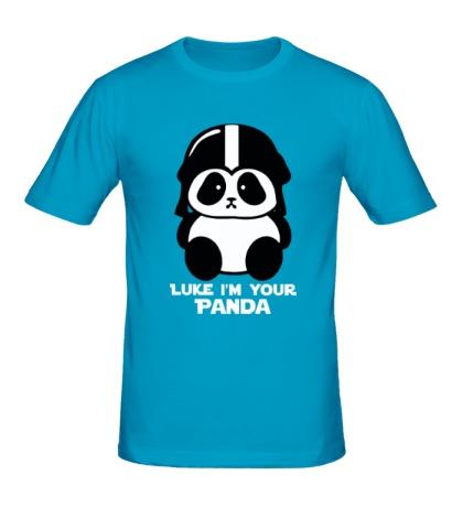 Мужская футболка Luke im your panda