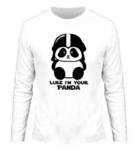 Мужской лонгслив Luke im your panda