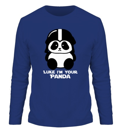 Мужской лонгслив Luke im your panda