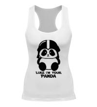 Женская борцовка Luke im your panda