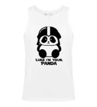 Мужская майка Luke im your panda