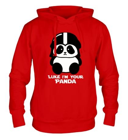 Толстовка с капюшоном Luke im your panda