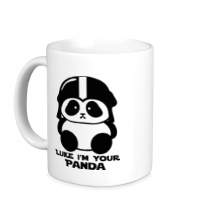 Керамическая кружка Luke im your panda