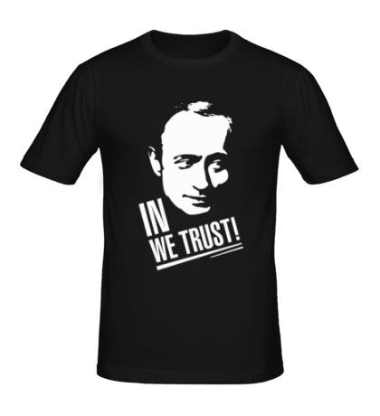 Мужская футболка Putin we Trust