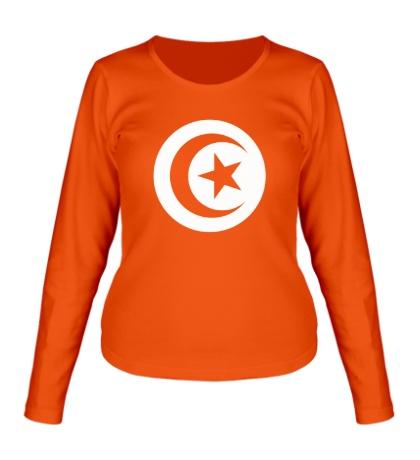 Женский лонгслив Символ Туниса
