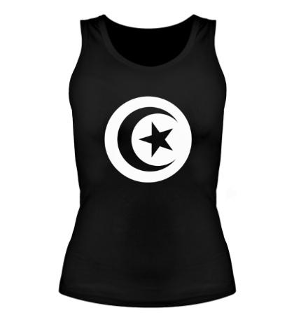Женская майка Символ Туниса