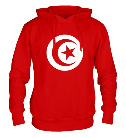 Толстовка с капюшоном Символ Туниса