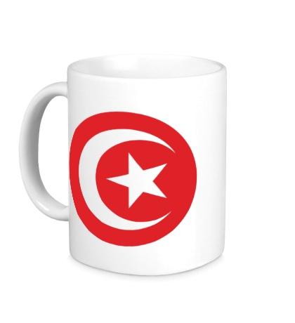 Керамическая кружка Символ Туниса