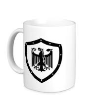 Керамическая кружка Гербовый орел