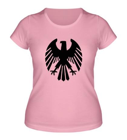 Женская футболка Немецкий орел