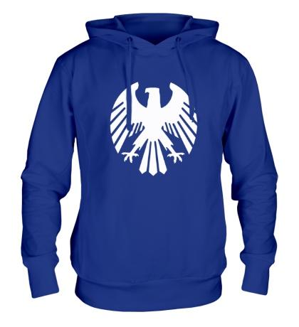 Толстовка с капюшоном Немецкий орел
