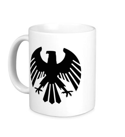 Керамическая кружка Немецкий орел