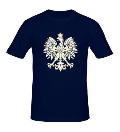 Мужская футболка Имперский орел, свет