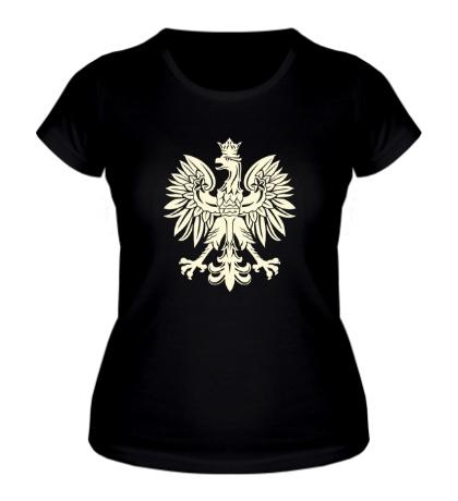 Женская футболка Имперский орел, свет