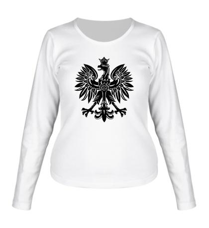 Женский лонгслив Имперский орел