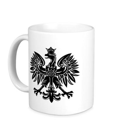 Керамическая кружка Имперский орел