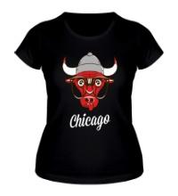 Женская футболка SWAG Chicago Bull