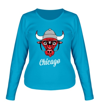 Женский лонгслив SWAG Chicago Bull