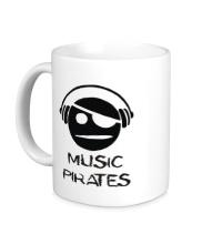 Керамическая кружка Music Pirates