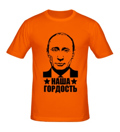 Мужская футболка Гордость России
