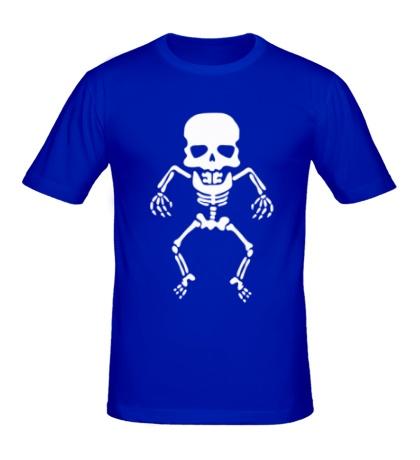 Мужская футболка Скелет малыша