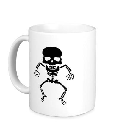 Керамическая кружка Скелет малыша
