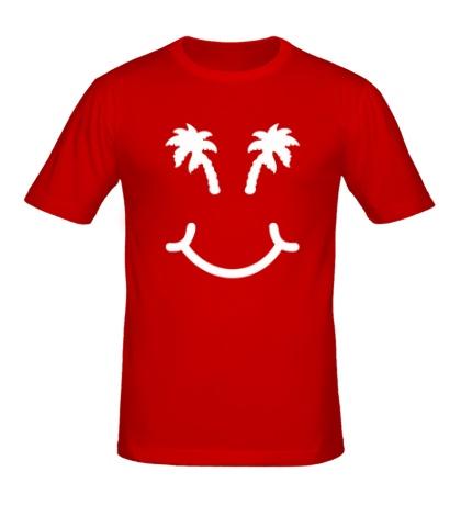 Мужская футболка «Хочу в отпуск»