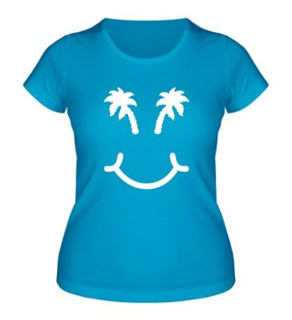 Женская футболка Хочу в отпуск