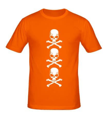 Мужская футболка Адские черепа