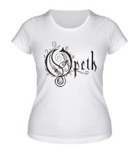 Женская футболка Opeth