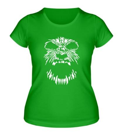 Женская футболка Ярость