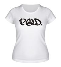 Женская футболка P. O. D