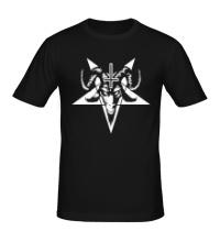 Мужская футболка Пентаграмма Сатаны