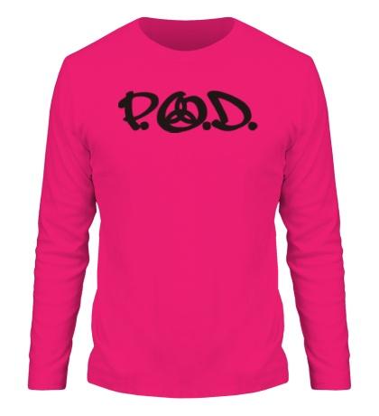 Мужской лонгслив «P. O. D»
