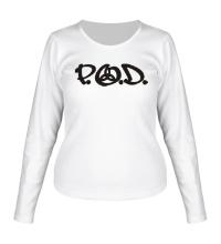 Женский лонгслив P. O. D