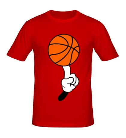 Мужская футболка Гуру баскетбола