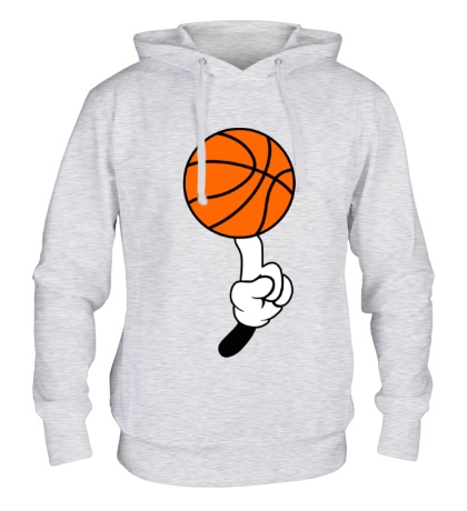 Толстовка с капюшоном Гуру баскетбола