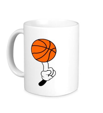 Керамическая кружка Гуру баскетбола