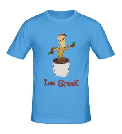 Мужская футболка I am Groot
