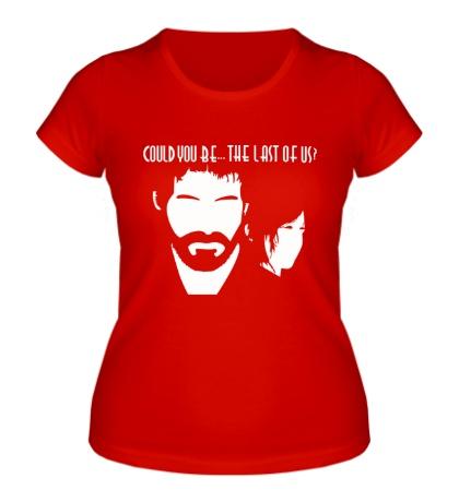 Женская футболка Last of us