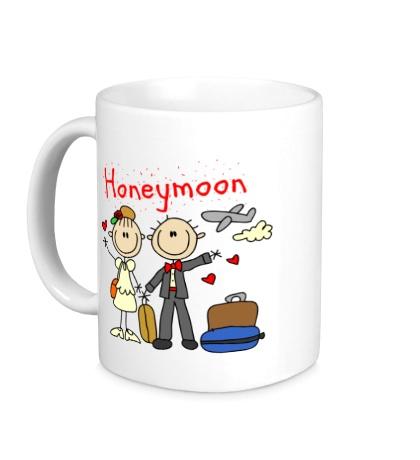 Керамическая кружка Honeymoon
