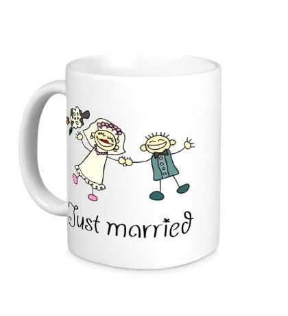 Керамическая кружка Веселые женатики