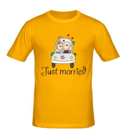 Мужская футболка Медовый месяц