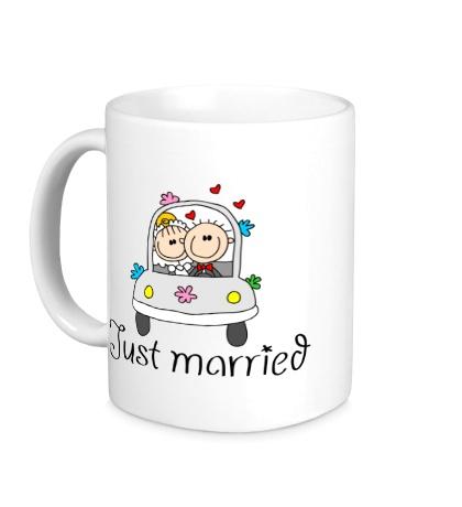 Керамическая кружка Медовый месяц